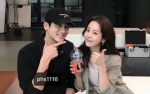 Park Hyung Sik đích thân đến phim trường 'Familiar Wife' thăm chị người yêu Han Ji Min