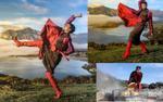 Hoa hậu H'hen Niê 'thả thính lạ' giữa trời New Zealand hùng vĩ
