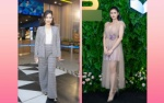 Sao xấu tuần: 'Chị Nguyệt thảo mai' bị vest 'nuốt chửng', DV hài Thúy Nga sexy mà sến cũng thành thảm họa