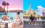 Loạt ảnh du lịch sang chảnh nhuốm màu 'mộng mơ' của nàng tiểu thư con nhà giàu Việt