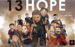 Giải cứu đội bóng Thái Lan - hành trình của niềm tin và hy vọng qua những bức vẽ xúc động từ dân mạng