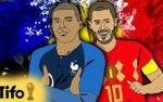 Đại chiến Pháp - Bỉ qua những con số đặc biệt