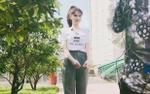 Sao Việt mặc gì hôm nay:  Ngọc Trinh hóa 'gái quê' thứ thiệt nhưng mà siêu đáng yêu