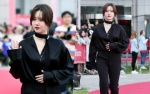 Ngoại hình 'phát tướng', liên tục lấy tay che bụng, phải chăng Goo Hye Sun đang mang thai con đầu lòng?