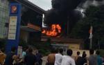 Cháy nổ lớn tại trạm biến áp 110KV, cắt điện trên diện rộng