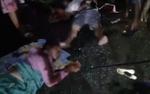 3 xe khách va chạm trong đêm, 4 người thương vong