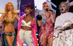 'Đứng tim' trước những sân khấu đỉnh cao của VMAs: từ bánh kem khổng lồ đến một đàn sư tử thật!