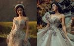 Diện váy cưới bồng bềnh, Khánh Linh The Face chưa bao giờ đẹp huyền ảo đến thế
