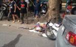 Nam chiến sĩ Công an huyện gặp nạn tử vong trên đường đi công tác về