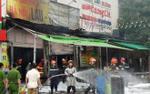 Cháy lớn quán lẩu tại Hà Nội, nữ nhân viên mắc kẹt ở tầng 2 tử vong