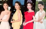 Hoa hậu Ngọc Khánh bất ngờ xuất hiện, đọ sắc cùng dàn người đẹp tại thảm đỏ Chung khảo phía Bắc Hoa hậu Việt Nam 2018