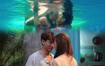 Isaac hôn Phan Ngân say đắm dưới nước, viết nên bản tình ca ngọt ngào