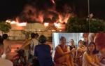 Vụ cháy kinh hoàng tại chợ Gạo: Tiểu thương khóc sưng cả mắt nhìn lửa thiêu rụi tài sản lên đến hàng tỉ đồng