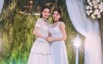 Đi ăn cưới em gái, Nhã Phương dù U30 và mặc lại váy cũ vẫn xinh lung linh như thiếu nữ 18