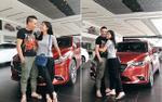 MC Hoàng Linh hạnh phúc khoe 'xế hộp' tiền tỷ mới tậu cùng chồng sắp cưới