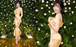 Elly Trần gợi cảm hết cỡ trong tiệc sinh nhật con gái, khoe vòng 3 khó ai địch nổi