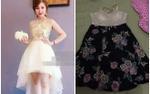 Bỏ 600 nghìn mua váy hot girl, cô nàng ngậm ngùi nhận về 2 chiếc 'giẻ lau' khác hẳn hình minh họa