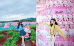 Có một hòn đảo Hello Kitty toàn màu 'hường' ở Hàn Quốc khiến con gái cứ phải phát cuồng