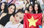 Đặng Ngân và dàn hot girl nóng bỏng trong ngày U23 Việt Nam vô địch