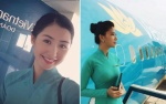 Những nữ tiếp viên hàng không xưa và nay của Việt Nam: Tài sắc, thành công và nổi tiếng