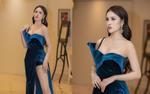Á hậu Thư Dung diện váy xẻ cao vút, khoe nhan sắc 'gây thương nhớ' tại sự kiện