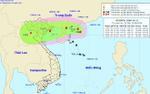 Tâm bão số 4 nằm trên vùng biển Quảng Ninh-Nam Định: Biển Đông có mưa giông mạnh