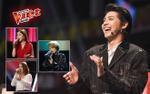 Để mang cả 3 học trò 4 chọn vào Top 10, Noo Phước Thịnh từng 'trầy vi tróc vảy' thế này tại The Voice 2018