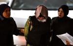Video: Đoàn Thị Hương mặc áo chống đạn được áp giải tới tòa tuyên án