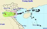 Bão sô 4 tiếp tục suy yếu thành áp thấp nhiệt đới khi đổ bộ vào khu vực Thanh Hóa