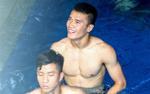 Hoá ra đây là lý do các cầu thủ Olympic Việt Nam phải tắm nước đá lạnh trước khi đối đầu Olympic Nhật Bản