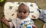 Tiếng khóc thương tâm của bé trai 10 tháng tuổi mắc bệnh não úng thủy ở Nghệ An