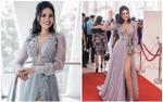 Nữ hoàng Trần Huyền Nhung khoe vẻ gợi cảm tại một cuộc thi nhan sắc