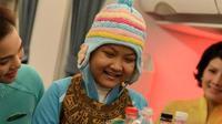 'Chuyến bay ước mơ' của cô bé ung thư lay động triệu người