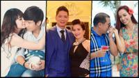 3 cặp vợ chồng 'đũa lệch' hạnh phúc bậc nhất showbiz Việt