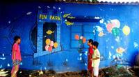 Quảng Nam có ngôi làng bích họa đầu tiên ở Việt Nam