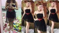Thảm họa mua hàng online: Nhận về chiếc váy chẳng giống gì chỉ giống mỗi màu đen