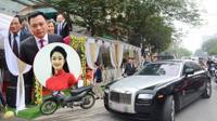 Chồng đại gia hơn 19 tuổi của Hoa hậu Thu Ngân đi xe sang 10 tỷ đồng về Hải Phòng ăn hỏi