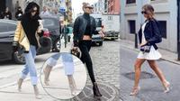 Kendall Jenner, Gigi Hadid tiếp tục dẫn đầu với trào lưu boots trong suốt