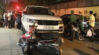 Range Rover gây tai nạn liên hoàn: Thủ phạm nghi có biểu hiện ngáo đá