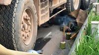 Xe tải đi ngược chiều cố tình lấn làn, đâm chết 2 người ở Bắc Giang: Tài xế ra đầu thú