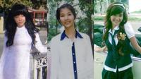 Dù có 'lột xác' ra sao, chắc chắn sao Việt vẫn không thể quên hình ảnh thuở cắp sách đến trường