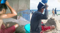 Đăng ảnh mơ đi biển, chàng trai nghèo được người lạ mặt tài trợ toàn bộ chi phí du lịch