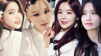 Top 10 nữ thần tượng được tìm kiếm nhiều nhất ở Hàn Quốc, Irene bất ngờ đứng đầu với lượt 'search' khủng!