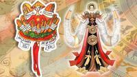 Phát sốt loạt trang phục truyền thống lấy ý tưởng từ bánh mì, ngà voi của Hoa hậu Hoàn vũ Việt Nam