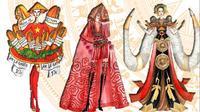 Loạt trang phục lấy ý tưởng từ Bánh mì, Hai Bà Trưng lọt top 15 thiết kế trang phục dân tộc cho Miss Universe Vietnam