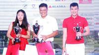 Lần đầu đấu giải, Công Vinh đã đánh bại gần 300 Golf thủ