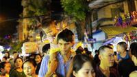 Tết Trung thu đã tràn về trên từng ngõ phố Hà Nội