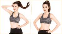 Hoa hậu Đỗ Mỹ Linh khoe đường cong chuẩn từng milimet trước thềm Miss World 2017