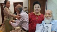 Cuộc hôn nhân của PGS Văn Như Cương và vợ: Suốt 56 năm chưa 1 giây ngừng nói yêu thương nhau