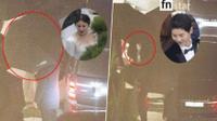 Hậu đám cưới, Song Joong Ki - Song Hye Kyo rời lễ đường bằng siêu xe, quyết không lộ mặt